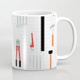 Tool Wall Coffee Mug
