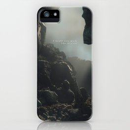 Day 1105 /// Imaginary places iPhone Case
