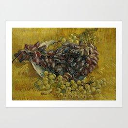 Grapes, by Vincent van Gogh Art Print