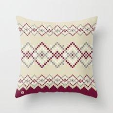 Jacquard 04 Throw Pillow