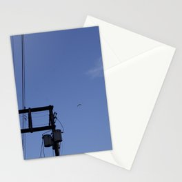 Birds and the Tower Stationery Cards