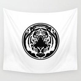 Tiger Circle Graphic Wall Tapestry