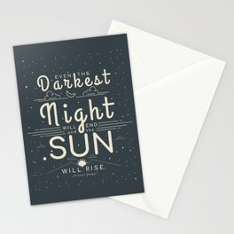 Victor Hugo Quote Stationery Cards