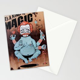 it´s a kind of magic! Stationery Cards