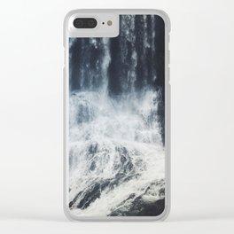 cascade Clear iPhone Case