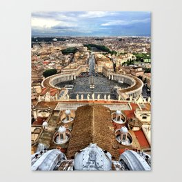High Above The Vatican - Basilica di San Pietro Canvas Print