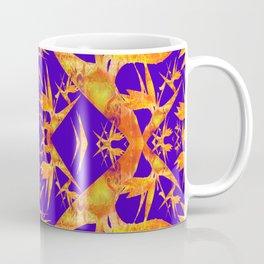 Bird of Paradise Fractal Floral Mandala Coffee Mug
