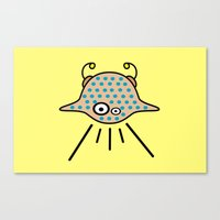 ufo Canvas Prints featuring UFO by Joe Pansa