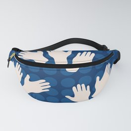 Waving Hands Fanny Pack