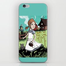 There's No Place Like Home iPhone & iPod Skin