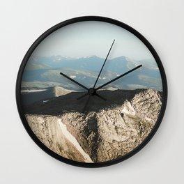 Mount Evans Summit Wall Clock