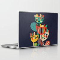 rustic Laptop & iPad Skins featuring Wild Flowers by Picomodi