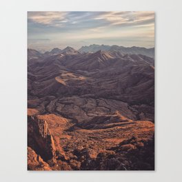 Punta de la Sierra Canvas Print