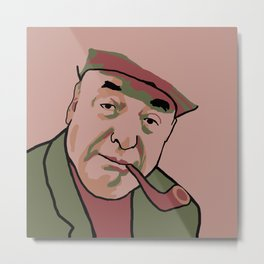 Pablo Neruda Metal Print