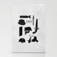 kubrick Stationery Cards featuring 2011: A Kubrick Odyssey by Florent Bodart / Speakerine