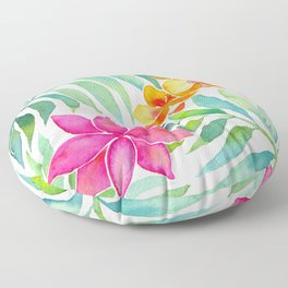 Tropical Paradise Floor Pillow