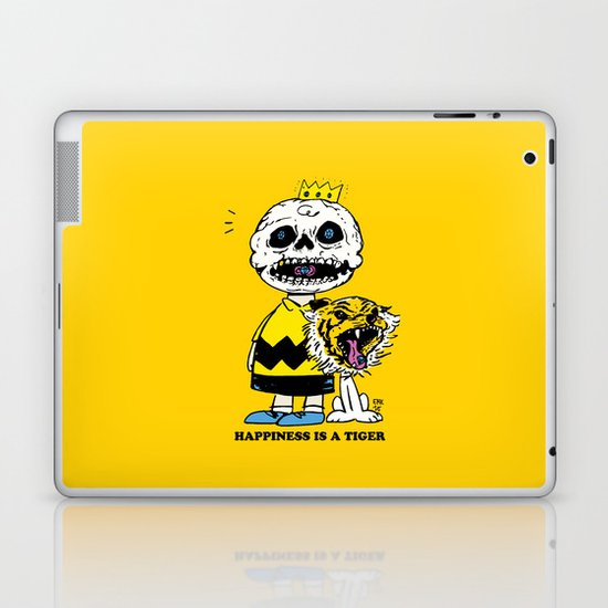 Happiness Is A Tiger Laptop & iPad Skin
