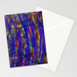 Blue Intensity Stationery Cards