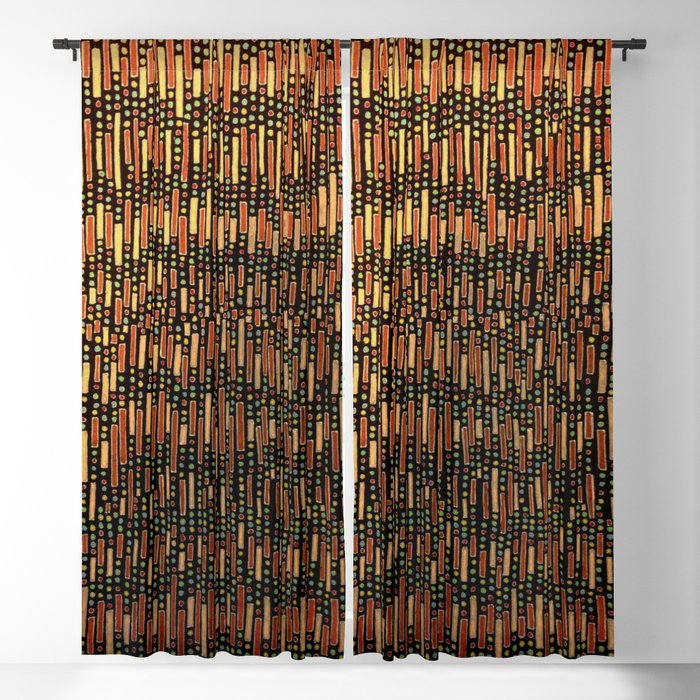 Chile pattern Blackout Curtain