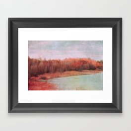 wild red Framed Art Print
