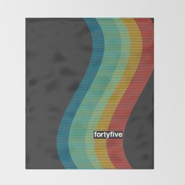45 New Wave Throw Blanket