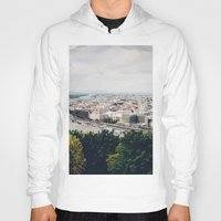 budapest Hoodies featuring Budapest Pano by Johnny Frazer