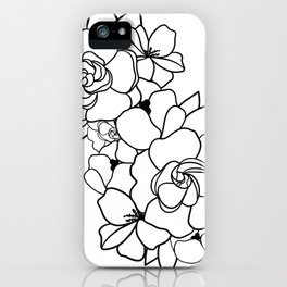 Floral Roots iPhone Case