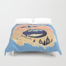 High Flying Hugs Duvet Cover