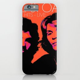 HALL OATES GREATEST HITS LIVE TOUR DATES 2019 BAKSO iPhone Case