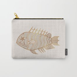 Fantastical Fish 1 - Natural Carry-All Pouch
