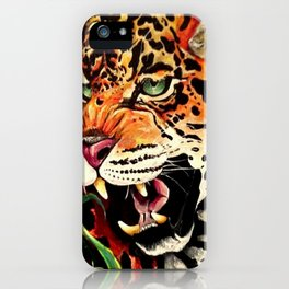 Leo Pard iPhone Case
