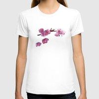 "sakura T-shirts featuring ""Sakura"" by Emma Reznikova"