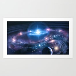 The Grand Universe Art Print