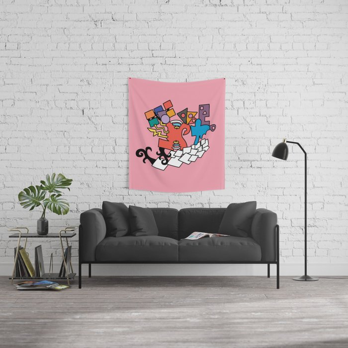 AB Wall Tapestry