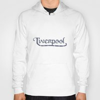 liverpool Hoodies featuring Liverpool  by Cory Wilcox