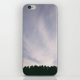Wispy clouds in the sky. Norfolk, UK iPhone Skin