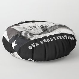 Protect Our Constitution Floor Pillow