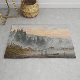 Caspar David Friedrich - The Morning.jpg Rug
