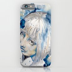Nieves watercolor portrait by carographic Slim Case iPhone 6s