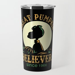 Great Pumpkin Believer Travel Mug
