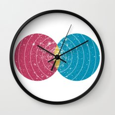 Stars Collide  Wall Clock