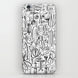 Medical Condition B&W iPhone Skin