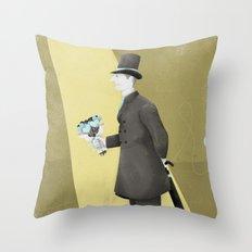 Good Evening! Throw Pillow