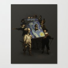 The Starry Night Watch Canvas Print