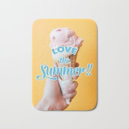 Love the Summer - Ice cream Bath Mat