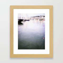 Palma Harbour Framed Art Print