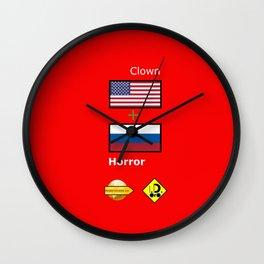 Clown Horror Wall Clock
