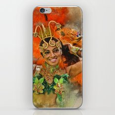 Carnival Queen iPhone & iPod Skin