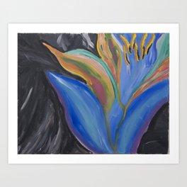 Jungle Lotus Art Print