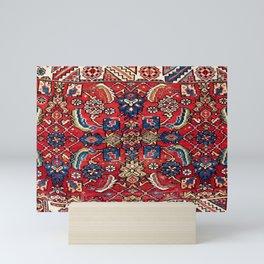 Qashqa'i Vagireh Fars Southwest Persian Sampler Print Mini Art Print